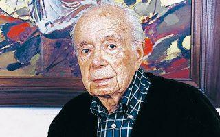 Ο Αντώνης Σαμαράκης, ένας από τους πλέον μεταφρασμένους Ελληνες συγγραφείς.