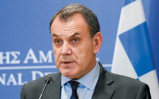 Για «ανταγωνισμό ψυχραιμίας» μίλησε ο υπουργός Εθνικής Αμυνας Νίκος Παναγιωτόπουλος, αναφερόμενος στον πλου του τουρκικού «Ορούτς Ρέις» εντός της ελληνικής υφαλοκρηπίδας.