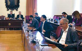 Στη συνεδρίαση της προανακριτικής επιτροπής διατυπώθηκε, σύμφωνα με πληροφορίες, η πρόταση να σταλεί νέα επιστολή προς τις εποπτεύουσες δικαστικές αρχές για την τακτική της κ. Τουλουπάκη.
