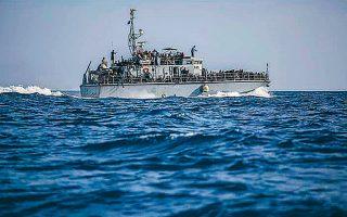 Πρόσφυγες επιστρέφουν στη Λιβύη με σκάφος της λιβυκής ακτοφυλακής, το καλοκαίρι του 2018.