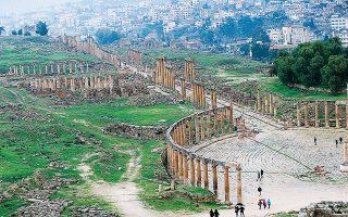 Η Γέρασα: την αποκαλούσαν «Πομπηία της Μέσης Ανατολής» λόγω του πλούτου της.