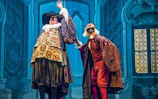 Παράσταση της Δραματικής Σχολής του Εθνικού Θεάτρου και του Piccolo Teatro του Μιλάνου.