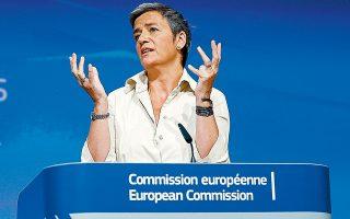 Μέσω επιστολής, χώρες-μέλη συνιστούν στην αντιπρόεδρο της Ευρωπαϊκής Επιτροπής Μαργκρέτε Βεστάγκερ, η οποία εκτελεί και χρέη επιτρόπου Ανταγωνισμού, να σταματήσει τις καθυστερήσεις και να τροποποιήσει επειγόντως τη νομοθεσία.