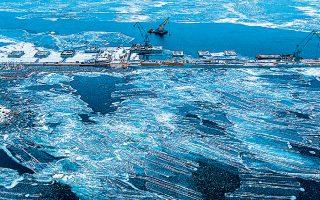 O αγωγός Nord Stream II θα μεταφέρει φυσικό αέριο από τη Ρωσία στη γερμανική αγορά μέσω της Βαλτικής Θάλασσας.