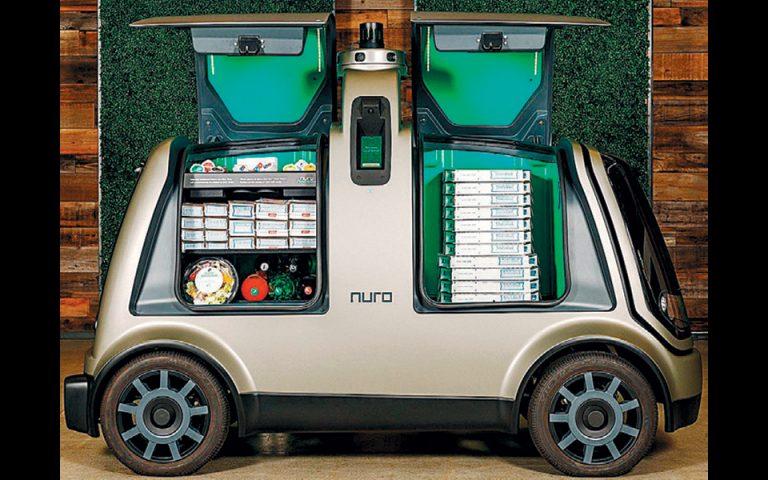 Ντελίβερι υψηλής τεχνολογίας με χρήση αυτόνομων οχημάτων
