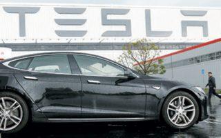 Η μετοχή της Tesla κέρδισε 15%.