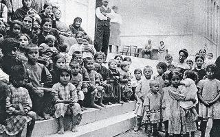 Προσφυγόπουλα στην Ελλάδα της δεκαετίας του '20. Μετά την ανταλλαγή πληθυσμών, η Ελλάδα διέθετε τον πλέον ομοιογενή (εθνικά, γλωσσικά και θρησκευτικά) πληθυσμό στην Ευρώπη (μαζί με την Πορτογαλία).