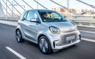 Oι τιμές στην Ελλάδα για τα Smart EQ facelift θα ξεκινούν από 24.990 ευρώ.
