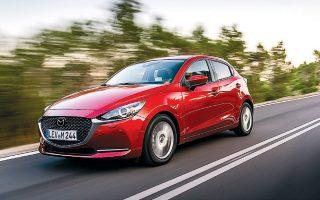 Το αυτοκίνητο εξοπλίζεται με σύστημα GVC Plus για ακόμα πιο σταθερή συμπεριφορά στις υψηλές ταχύτητες.