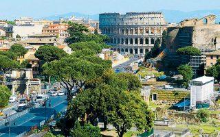 Απαγόρευση κυκλοφορίας πετρελαιοκίνητων οχημάτων αποφασίστηκε πριν από λίγες ημέρες στη Ρώμη. Περιορισμοί, που δεν τηρούνται, ισχύουν και στην Αθήνα.