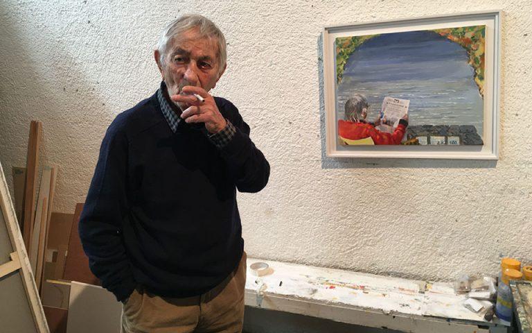 Εφυγε από τη ζωή ο ζωγράφος Δημοσθένης Κοκκινίδης