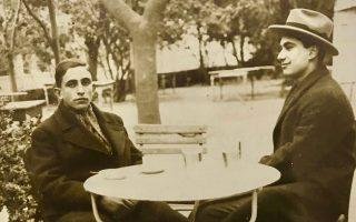 Στην Αλυσίδα Πατησίων, την άνοιξη του 1925. «Σε κάποιον από τους αξέχαστους εκείνους περιπάτους...».