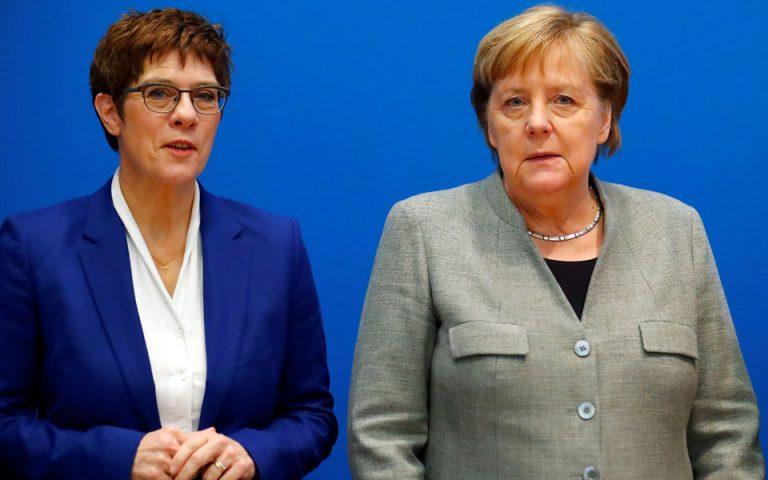 Ανεγκρέτ Κραμπ-Καρενμπάουερ: Το χαμένο στοίχημα να γίνει η «μίνι Μέρκελ»