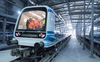 Ο Γενικός Γραμματέας Υποδομών Γιώργος Καραγιάννης πραγματοποίησε επίσκεψη στα έργα του Μετρό Θεσσαλονίκης, Πέμπτη 6 Φεβρουαρίου 2020.  ΑΠΕ-ΜΠΕ/ΑΠΕ-ΜΠΕ/ΝΙΚΟΣ ΑΡΒΑΝΙΤΙΔΗΣ