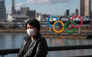Οι Ολυμπιακοί Αγώνες στην Ιαπωνία κινδυνεύουν από τον κορωνοϊό και όλα δείχνουν ότι μέχρι τον Μάιο θα φανεί αν η διοργάνωση διεξαχθεί και πού. A.P.
