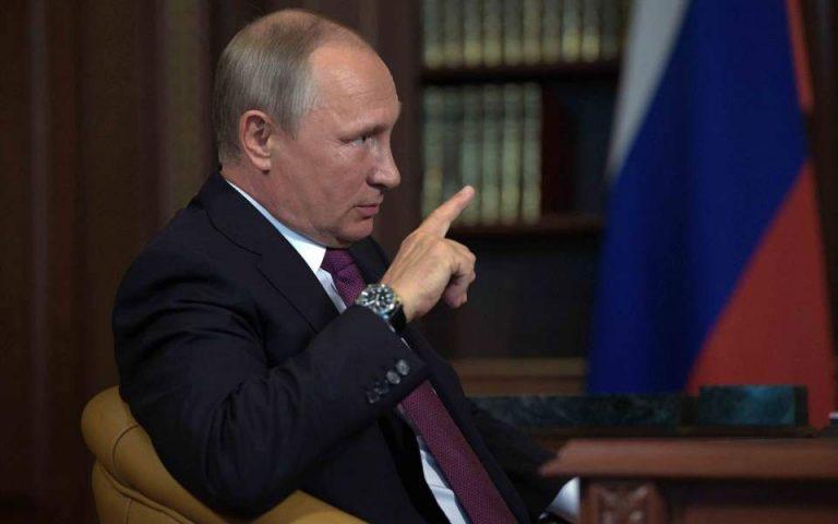 Υπέρ της τετραμερούς για τη Συρία ο Πούτιν