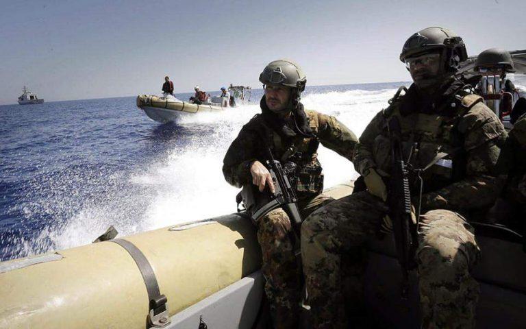 Συμφωνία για ναυτική «περιφρούρηση» του εμπάργκο όπλων στη Λιβύη