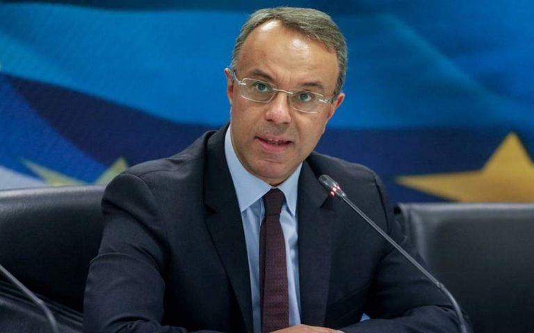 Χρ. Σταϊκούρας στο Spiegel: «Θέλουμε μεγαλύτερο δημοσιονομικό χώρο»