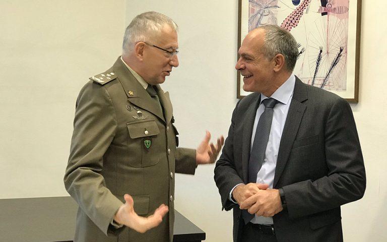 Συνάντηση Αλ. Διακόπουλου με τον Πρόεδρο της Στρατιωτικής Επιτροπής της ΕΕ