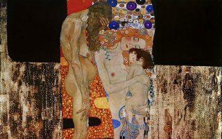 «Οι τρεις ηλικίες της γυναίκας», πίνακας που ο Γκούσταβ Κλιμτ ολοκλήρωσε το 1905 και που συμβολίζει τον κύκλο της ζωής.