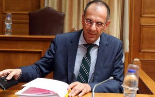 Ο υπουργός Επικρατείας Γ. Γεραπετρίτης.