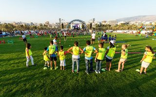 Αθληση και ψυχαγωγία για μικρούς και μεγάλους.