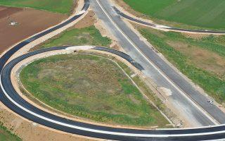 Σε πλήρη εξέλιξη είναι οι εργασίες κατασκευής του αυτοκινητόδρομου.
