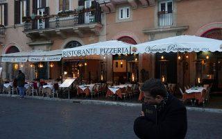 Οι εξαγωγές ψαριών που κατευθύνονταν προς τα εστιατόρια και τα ξενοδοχεία της Ιταλίας έχουν καταρρεύσει.