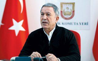 Ο υπουργός Εθνικής Αμυνας της Τουρκίας, Χουλουσί Ακάρ, υπερασπίστηκε την παρουσία των τουρκικών ενόπλων δυνάμεων στη Λιβύη διότι, όπως είπε, «συμβουλεύουν τη νόμιμη κυβέρνηση, στο πλαίσιο της εκπαιδευτικής συνεργασίας, εναντίον της ομάδας η οποία αψήφησε την, αναγνωρισμένη από τον ΟΗΕ, νόμιμη κυβέρνηση».