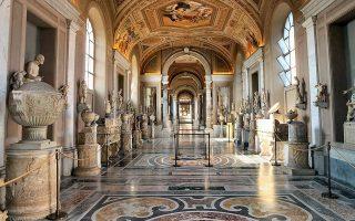 Το μουσείο του Βατικανού μπορεί κανείς να το επισκευφθεί διαδικτυακά.