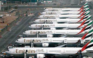 Ο διευθύνων σύμβουλος της Emirates Airlines, Αχμέντ μπιν Σαΐντ αλ Μακτούμ, προειδοποίησε ότι ορισμένοι προμηθευτές της Emirates δεν θα επιβιώσουν από την κρίση.