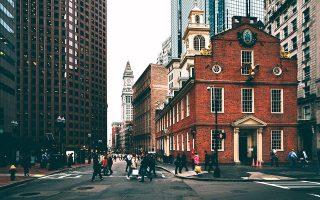Ιστορικό κτίριο στο κέντρο  της Βοστώνης. (Φωτογραφία: Getty Images/Ideal Image)