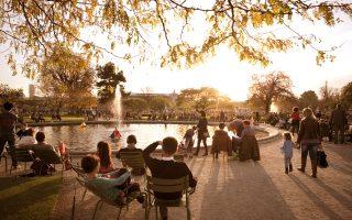 Ο κήπος του Κεραμεικού (Jardin  des Tuileries) είναι ο παλαιότερος  της πόλης. (Φωτογραφία: Getty Images/Ideal Image)