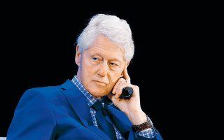 Ως έναν τρόπο να διαχειριστεί τα άγχη του και την πίεση που ένιωθε περιέγραψε ο Μπιλ Κλίντον, πρώην πρόεδρος των ΗΠΑ, την ερωτική σχέση που είχε στα τέλη της δεκαετίας του '90 με τη Μόνικα Λεβίνσκι, τότε νεαρή μαθητευόμενη στον Λευκό Οίκο.