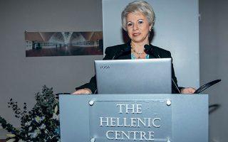 Η πρόεδρος της επιτροπής Ζέττα Θεοδωροπούλου-Πολυχρονιάδη.