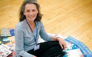H Ελένη Γερουλάνου είναι εκπαιδευτικός και συγγραφέας.