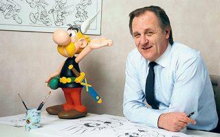Ο Ουντερζό, συνδημιουργός του Αστερίξ μαζί με τον σεναριογράφο Ρενέ Γκοσινί, έφυγε από τη ζωή σε ηλικία 92 ετών.