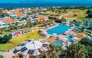 Ο όμιλος Κυπριώτη έχει πέντε ξενοδοχεία στην Κω. Τα δύο είναι πέντε αστέρων, το Panorama Hotel & Suites και το Maris Suites, και τα άλλα τρία τεσσάρων αστέρων, το Aqualand, το Hippocrates και το Village Resort.