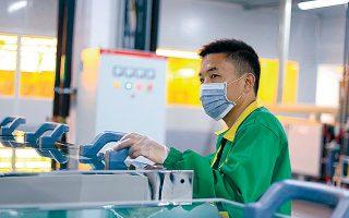 Η κινεζική κυβέρνηση, παρά την πανδημία, διατηρεί έναν φιλόδοξο στόχο για αύξηση του ΑΕΠ κατά 5% το 2020.
