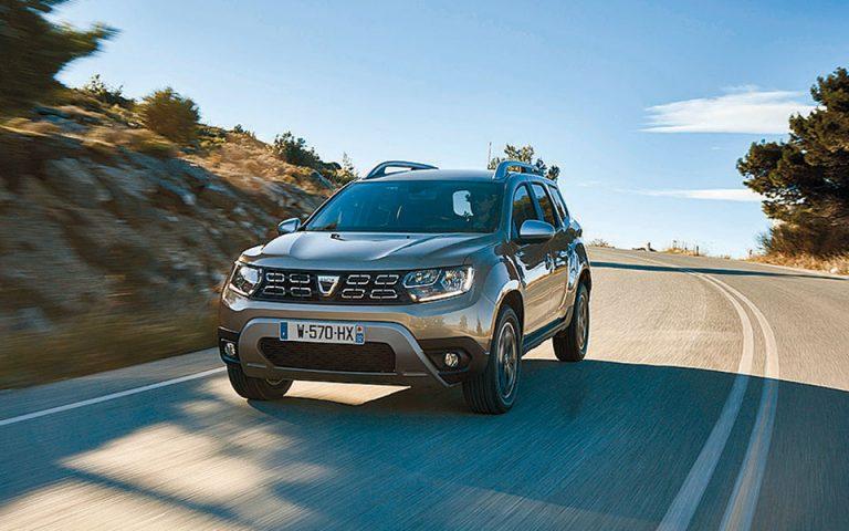Dacia Duster με κινητήρα βενζίνης – υγραερίου