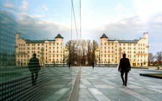 Στη δυτική όχθη του ποταμού Daugava θα δείτε μια ενδιαφέρουσα μείξη κτιρίων από διαφορετικές περιόδους. (Φωτογραφία: ΕΦΗ ΠΑΡΟΥΤΣΑ)