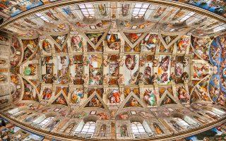 Αν θέλετε να δείτε «από κοντά» την Καπέλα Σιξτίνα, μπορείτε να το κάνετε μέσω της σελίδας του Μουσείου του Βατικανού. © Eric Nathan / Alamy Stock Photo/visualhellas.gr