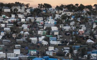 Moria refugee camp on the island of Lesbos, Greece on February 7, 2020. / Μόρια, Λέσβος, 7 Φεβρουαρίου 2020.