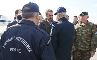 Φωτογραφίες: Γραφείου Τύπου πρωθυπουργού / Δημήτρης Παπαμήτσος.