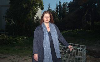 Ελευθερία Μαυρομάτη, ταμίας σούπερ μάρκετ (Φωτογραφίες: Δημήτρης Μιχαλάκης)