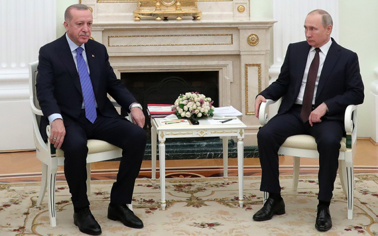 SZ: Ικέτης ο Ερντογάν, νικητής ο Πούτιν