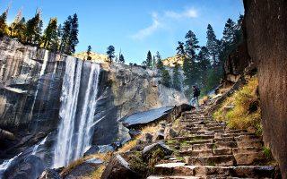 Το Εθνικό Πάρκο Yosemite στην Καλιφόρνια των ΗΠΑ πρωταγωνιστεί στο ντοκιμαντέρ «The Dawn Wall». (Φωτογραφία: Shutterstock)