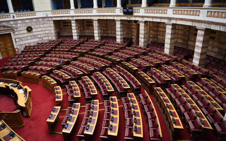 Την Τρίτη στη Βουλή οι δυο ΠΝΠ για τα μέτρα αντιμετώπισης του κορωνοϊού