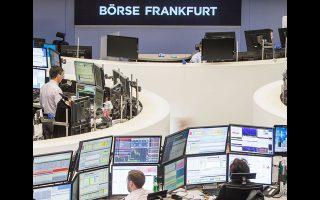 Ανοδο 2,24% σημείωσε ο δείκτης DAX της Φρανκφούρτης.