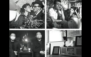 Το σινεμά του Νίκου Κούνδουρου με τον «Δράκο» (πάνω αριστερά) και τη «Μαγική πόλη» (πάνω δεξιά) μας προσφέρει η Ταινιοθήκη, την ώρα που το Φεστιβάλ Θεσσαλονίκης παραγγέλνει φιλμ από σπουδαίους ξένους κινηματογραφιστές (κάτω).